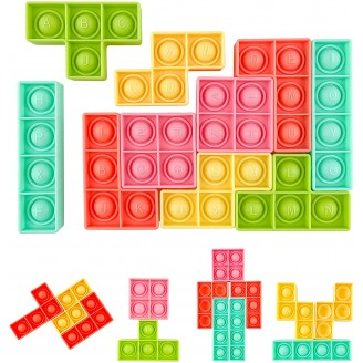 Pop it puzzles de 10 pcs